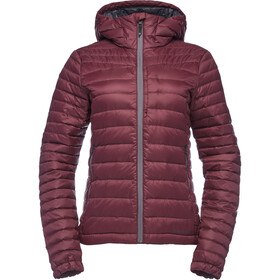 Black Diamond Access Down Hoody Women bordeaux